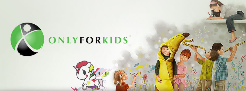 Only for Kids Logo Design